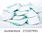 disposable nappies | Shutterstock . vector #171327491