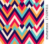 Seamless Ethnic Zigzag Pattern...