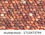 Old Terracotta Tiles On Roof...