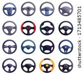Steering Wheel Icons Set....