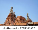 sculpture of ancient old pagoda ... | Shutterstock . vector #1713540517