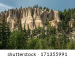 Hoodoo Formation Rocky Mountains