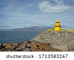 Lighthouse At The Entrance To...