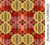 abstract decorative... | Shutterstock . vector #1713586114