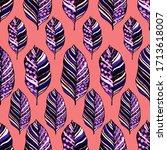modern abstract seamless... | Shutterstock . vector #1713618007