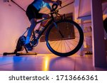 asian man cycling on the...   Shutterstock . vector #1713666361
