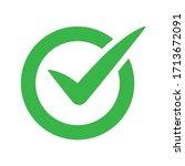 vector illustration of green... | Shutterstock .eps vector #1713672091