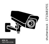 illustration of black icon for... | Shutterstock .eps vector #1713681931