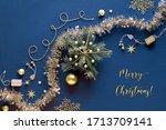 Golden Christmas Decorations ...