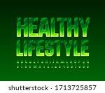 vector trendy logo healthy... | Shutterstock .eps vector #1713725857