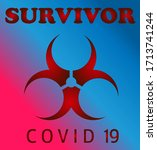 survivor coronavirus epidemic...   Shutterstock .eps vector #1713741244