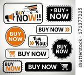 quality set of buy now buttons...