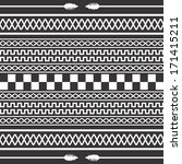 native american art pattern | Shutterstock .eps vector #171415211
