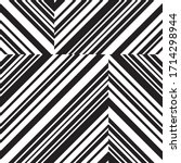 pattern with oblique black... | Shutterstock .eps vector #1714298944