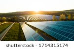 Small photo of Solar panel, photovoltaic, alternative electricity source - concept of sustainable resources