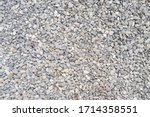 Stone Background  Dark Gravel...