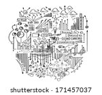 background image with hand... | Shutterstock . vector #171457037