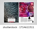 modern vector templates for... | Shutterstock .eps vector #1714611511