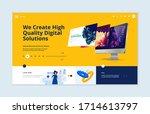 website template design. modern ...