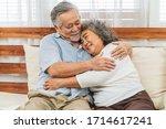 Asian Couple Grandparent...