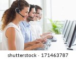 customer service... | Shutterstock . vector #171463787