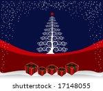 christmas background designed... | Shutterstock . vector #17148055