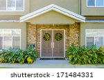 entrance of a house in... | Shutterstock . vector #171484331