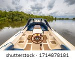 Sloop Sailing On Lake...