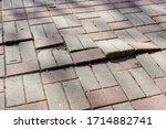 Defective Cobblestone Pavement...