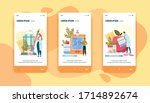 diabetic blood test  sugar...   Shutterstock .eps vector #1714892674
