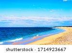Scenery On Atlantic Ocean Bay...