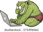 Fat Internet Troll Using A...