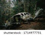 Eerie plane crash in the...