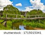 Beautiful Old Wooden Bridge...