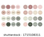 highlights of cover stories... | Shutterstock .eps vector #1715108311