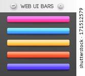 web interface ui elements....