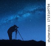 Silhouette Of Photographer With ...