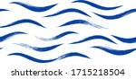 seamless wave pattern  hand... | Shutterstock .eps vector #1715218504
