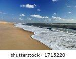 Beach At Cape Hatteras  North...