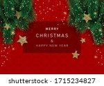 christmas banners with... | Shutterstock .eps vector #1715234827
