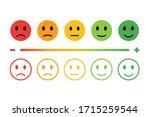 feedback in form of emotions....   Shutterstock .eps vector #1715259544