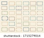 sketch frames. album doodle... | Shutterstock .eps vector #1715279014