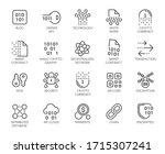 premium icons pack on... | Shutterstock .eps vector #1715307241