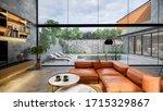 3d Rendering. Interior House...