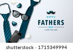 vector father's day greetings... | Shutterstock .eps vector #1715349994