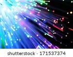fiber optics   Shutterstock . vector #171537374