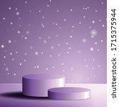 texture pedestal for display...   Shutterstock .eps vector #1715375944