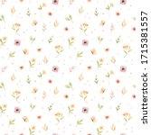 hildren's watercolor seamless ...   Shutterstock . vector #1715381557