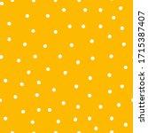 dotted wallpaper seamless... | Shutterstock .eps vector #1715387407
