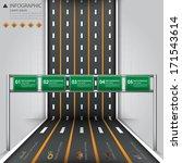 road   street business...   Shutterstock .eps vector #171543614